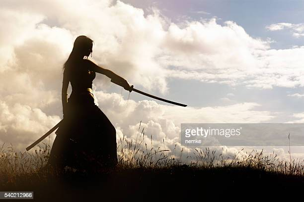 samurai - sword stock pictures, royalty-free photos & images