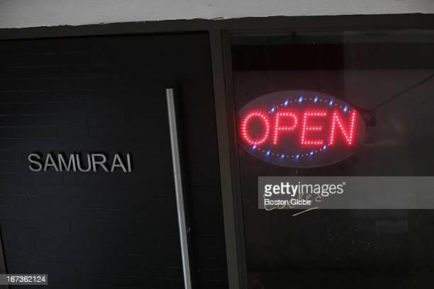 Samurai Restaurant on Boylston Street Boylston Street reopens on Tuesday April 23 after last week's Boston Marathon bombings