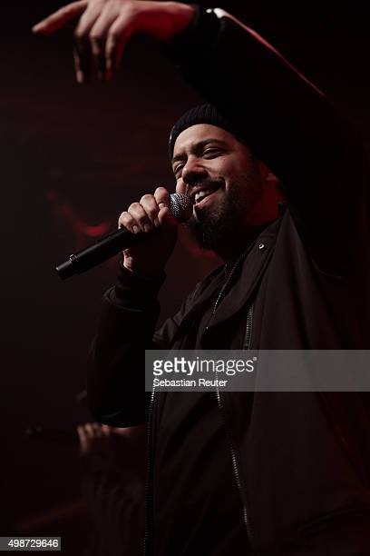 Samy Deluxe of ASD performs at Postbahnhof on November 25 2015 in Berlin Germany