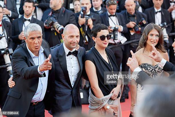 Samy Naceri Also attends the screening of 'From The Land And The Moon ' at the annual 69th Cannes Film Festival at Palais des Festivals on May 15...