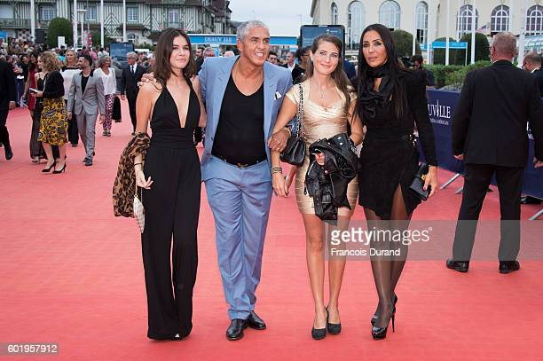 Samy Naceri and guest arrive to the 'War Dogs' premiere and Award Ceremony during the 42nd Deauville American Film Festival on September 10 2016 in...
