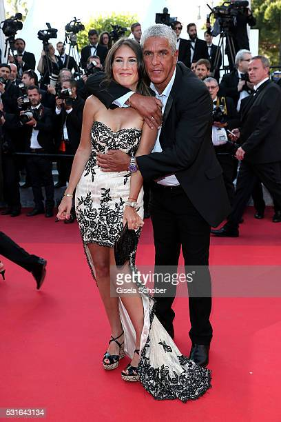 Samy Naceri and Marie De Fleurieu attend the 'From The Land Of The Moon ' premiere during the 69th annual Cannes Film Festival at the Palais des...