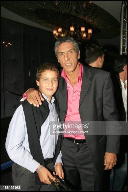 Samy Naceri and son Julian premiere of the movie Indigenes by Rachid Bouchareb at the UGC Normandie on the Champs Elysees in Paris