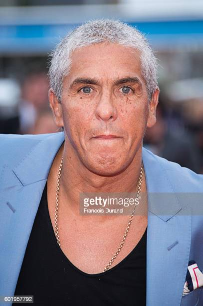 Samy Naceri arrives to the 'War Dogs' premiere and Award Ceremony during the 42nd Deauville American Film Festival on September 10 2016 in Deauville...