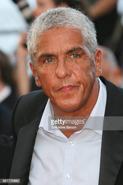 Samy Naceri attends a screening of 'From The Land And The Moon ' at the annual 69th Cannes Film Festival at Palais des Festivals on May 15 2016 in...