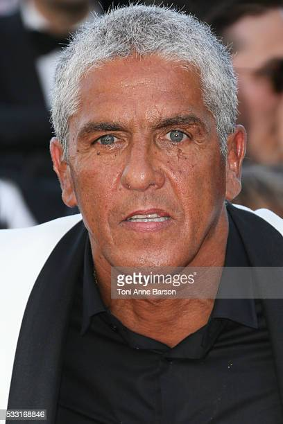 Samy Naceri attends a screening of 'The Last Face' at the annual 69th Cannes Film Festival at Palais des Festivals on May 20 2016 in Cannes France