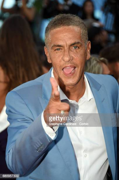 Samy Naceri attends the '120 Beats Per Minute ' premiere during the 70th annual Cannes Film Festival at Palais des Festivals on May 20 2017 in Cannes...