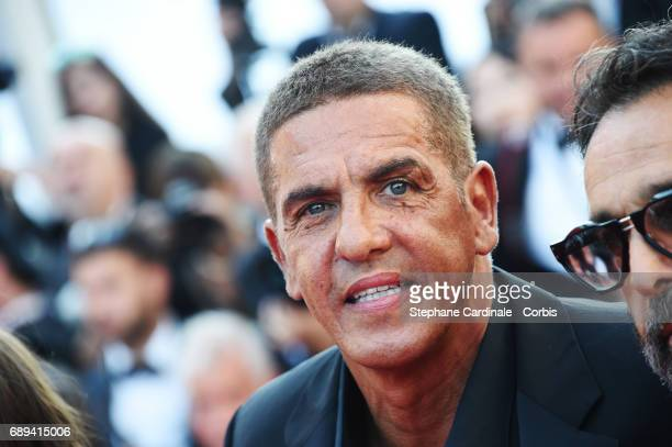 Samy Naceri attends the Closing Ceremony during the 70th annual Cannes Film Festival at Palais des Festivals on May 28 2017 in Cannes France