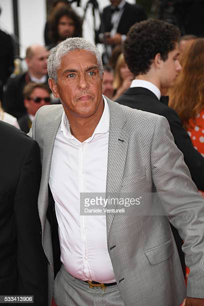 Samy Naceri attends the closing ceremony of the 69th annual Cannes Film Festival at the Palais des Festivals on May 22 2016 in Cannes France