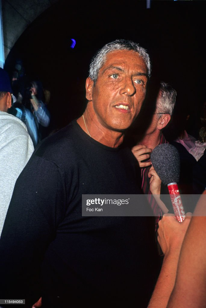 Samy Naceri attends The Converse 100th Anniversary Party and Iggy Pop Concert at the Show Case Club on September 04, 2008 in Paris, France.