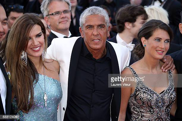Samy Naceri attends 'The Last Face' Premiere during the 69th annual Cannes Film Festival at the Palais des Festivals on May 20 2016 in Cannes France