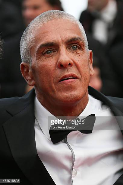Samy Naceri attends the 'Sicario' premiere during the 68th annual Cannes Film Festival on May 19 2015 in Cannes France