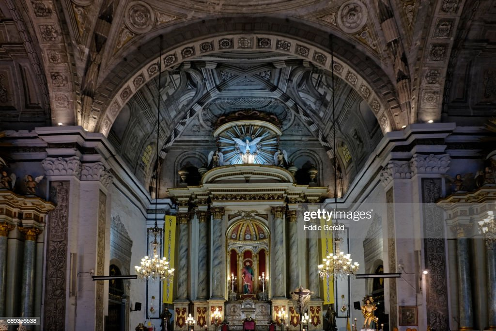 San Agustin Church in Manila : Stock Photo