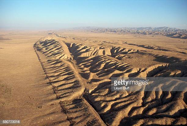 san andreas fault - san andreas fault stock pictures, royalty-free photos & images