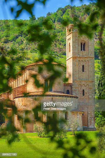 San Antimo Cistercian Abbey, Tuscany, Italy
