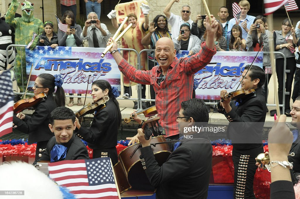 S GOT TALENT -- San Antonio Auditions -- Pictured: Howie Mandel --