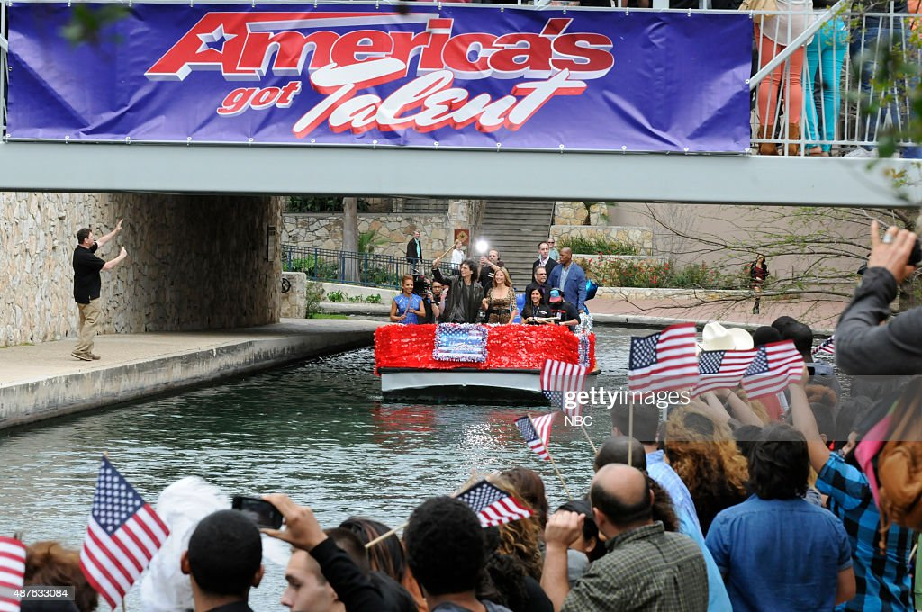 S GOT TALENT -- San Antonio Auditions -- Pictured: (l-r) Mel B, Howard Stern, Heidi Klum --