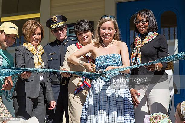 San Antonio City Manager Sheryl Sculley, San Antonio Police Department Chief William McManus, Director of Education, Ida De La Rosa Spence, Designer...