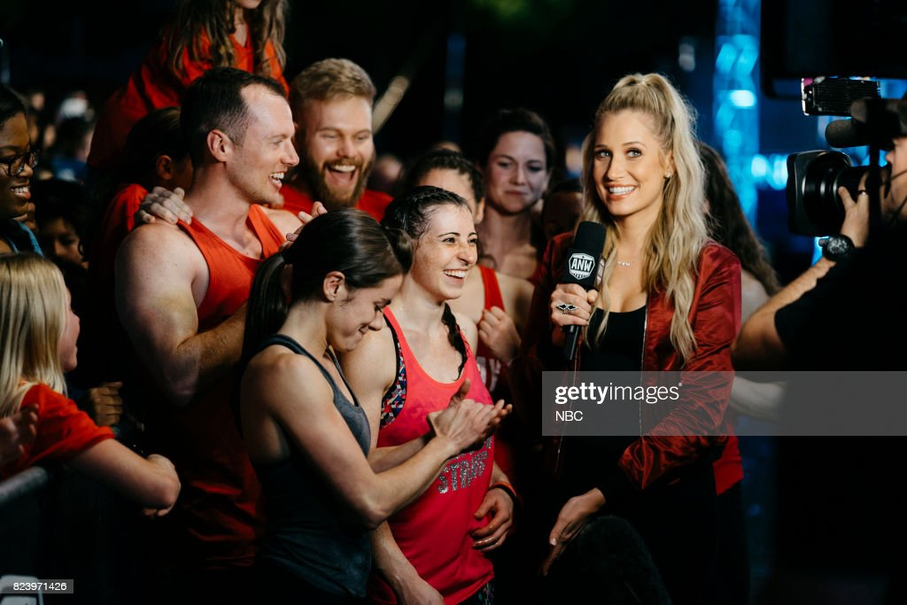 WARRIOR -- 'San Antonio Finals' -- Pictured: (l-r) Kacy Catanzaro, Barclay Stockett, Kristine Leahy --