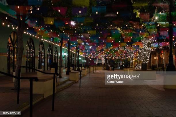san antonio historic market square - san antonio stock pictures, royalty-free photos & images