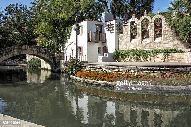 san antonio riverwalk - san antonio stock photos and pictures