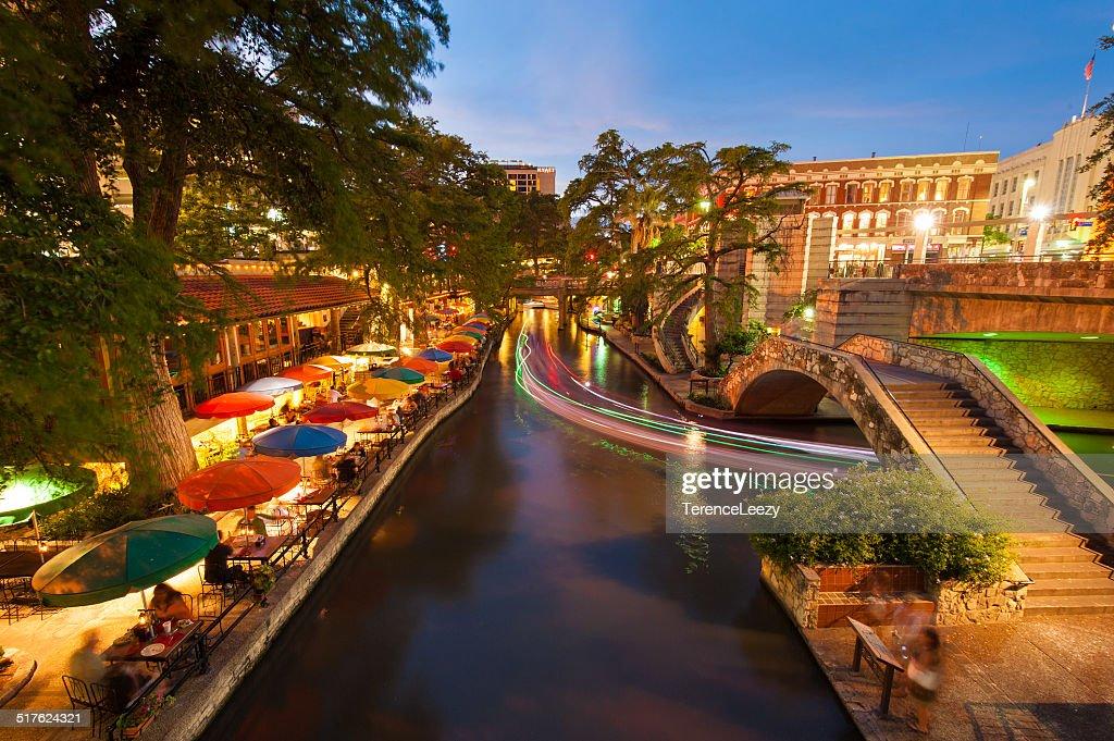 San Antonio Riverwalk, Texas : Foto de stock