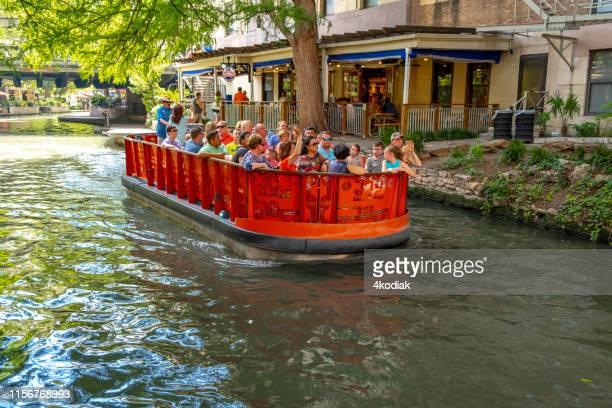 san antonio riverwalk texas  usa - san antonio river walk stock pictures, royalty-free photos & images