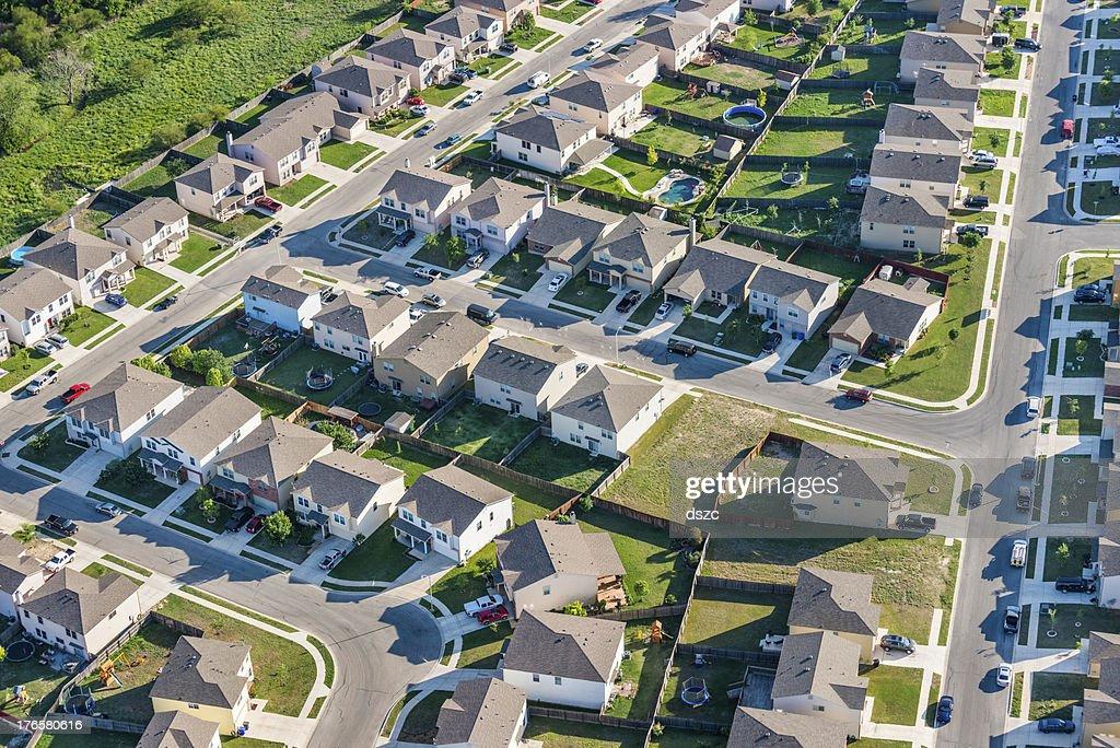 San Antoniotexas Suburban Housing Development Neighborhood