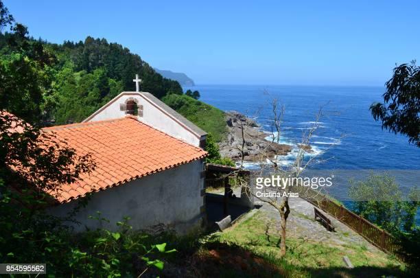 San Bartolome Hermitage Talako Ama in Path of Litanies on 17 June 2017 in Ea Vizcaya Basque Country Spain