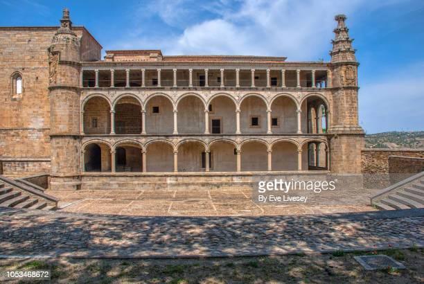 san benito of alcantara convent facade - cloister stock pictures, royalty-free photos & images