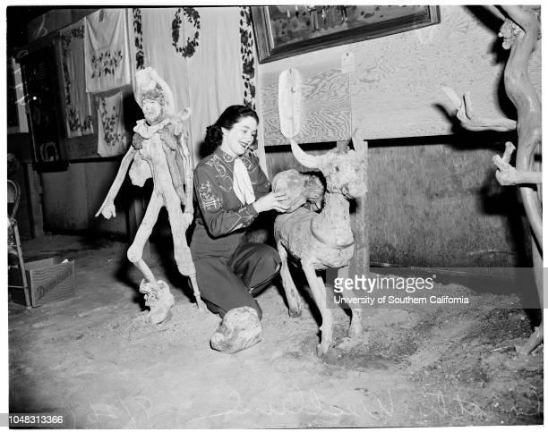 San Bernardino County Fair, 26 August 1953. Betty Marie Beach ;Bob Jones ;Johnny Henry;Darlene Fisher;George Hoogween;Peggy Petaucci;Phyllis...