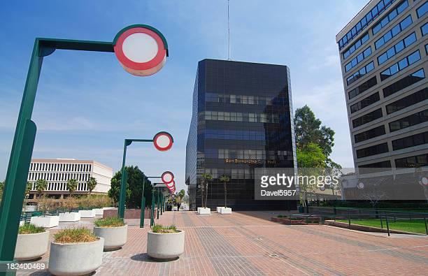 san bernardino downtown - san bernardino california stock pictures, royalty-free photos & images
