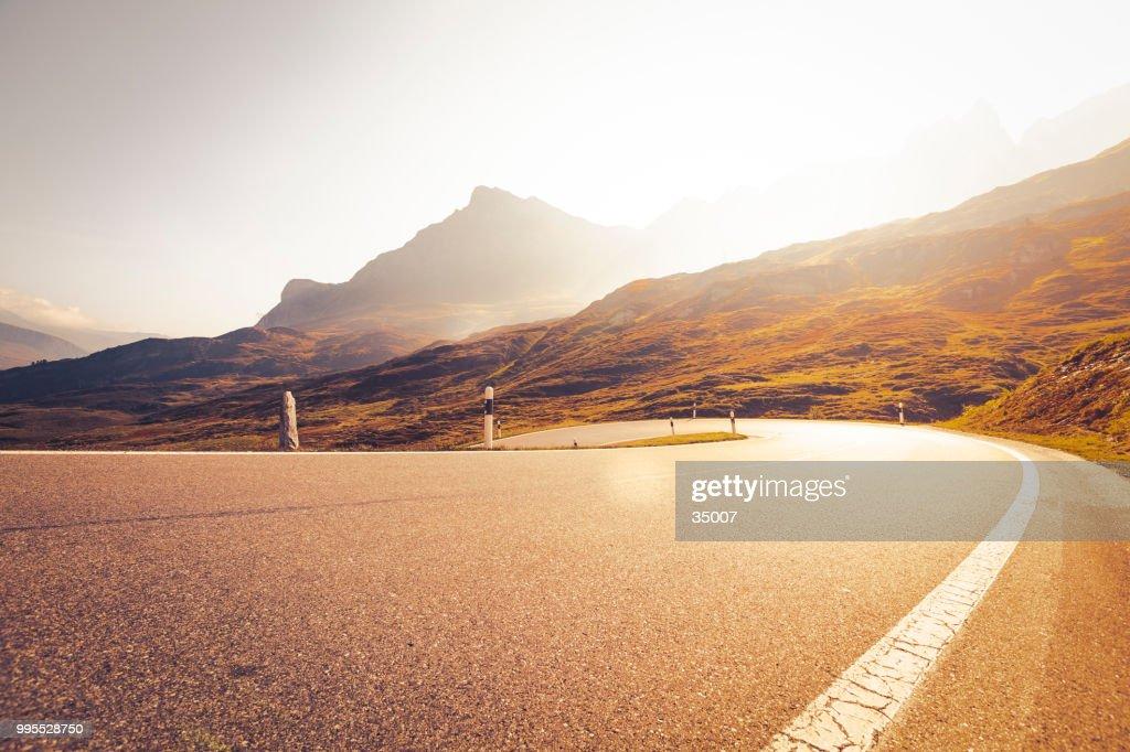 San Bernardino-Pass, Schweiz : Stock-Foto