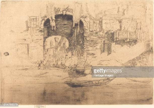 San Biagio, 1879/1880. Artist James Abbott McNeill Whistler.