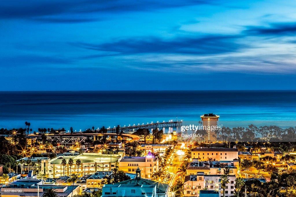 San Buena Ventura, California : Stock Photo