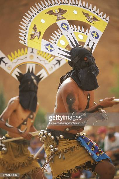 San Carlos Apache Crown Dancers Gallup InterTribal Indian Ceremonial Gallup New Mexico