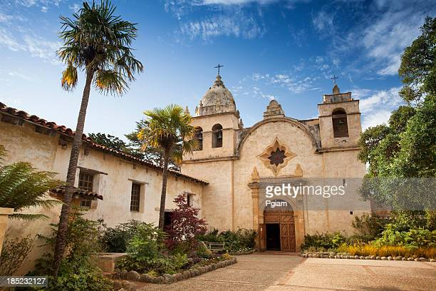 san carlos borromeo de carmelo mission - monterrey stock pictures, royalty-free photos & images