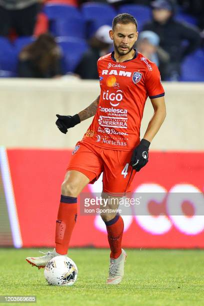 San Carlos defender Fernando Antionio Brenes Arrieta during the first half of the Scotiabank Concacaf Champions League game between AD San Carlos and...