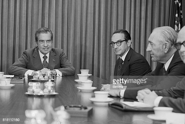 President Richard Nixon named Alan Greenspan Chairman of the Council of Economic Advisers succeeding Herbert Stein who retires August 31 1974...