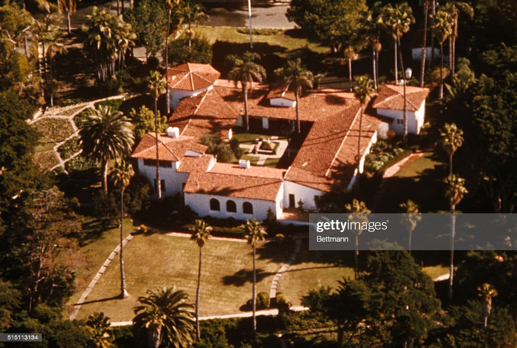 Aerial View of Richard Nixon's Residence : News Photo