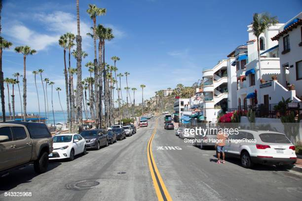 san clemente city beach - san clemente california stock pictures, royalty-free photos & images