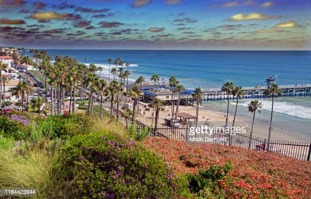 san clemente coast - san clemente california stock pictures, royalty-free photos & images