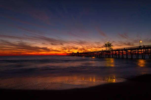 San Clemente Pier Sunfire