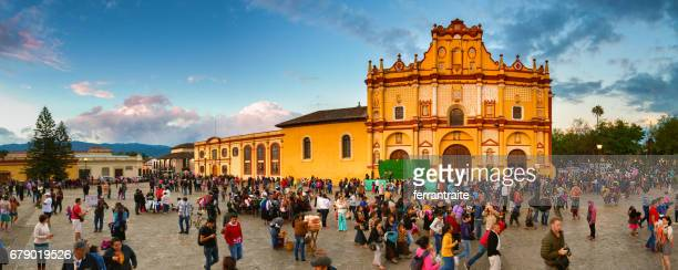 san cristóbal de las casas in chiapas, mexico - mexico stock photos and pictures
