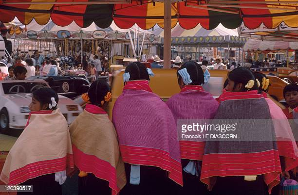 San Cristobal De Las Casas Mexico Women in Zinacantan