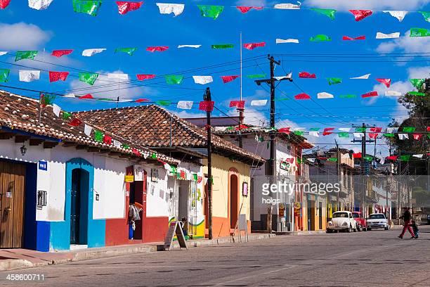 San Cristobal de las Casas street scene, Mexico