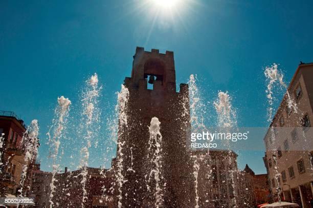 San Cristoforo Tower Oristano Sardinia Italy Europe