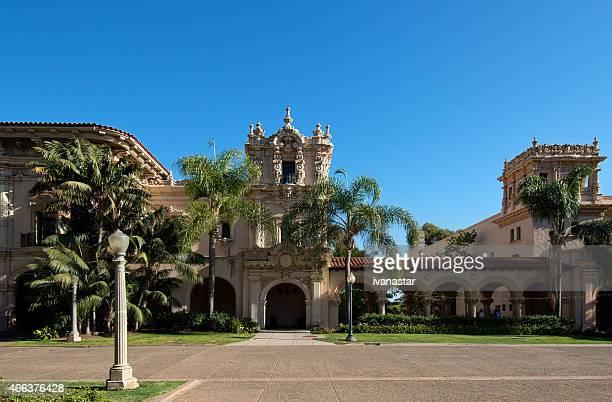 san diego balboa park architecture - casa de balboa - casa stock pictures, royalty-free photos & images