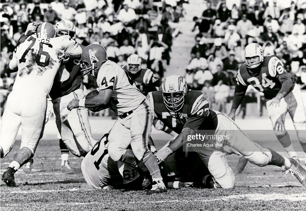 San Diego Chargers 1960's - File Photos : News Photo