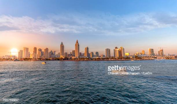 san diego cityscape - san diego stock pictures, royalty-free photos & images